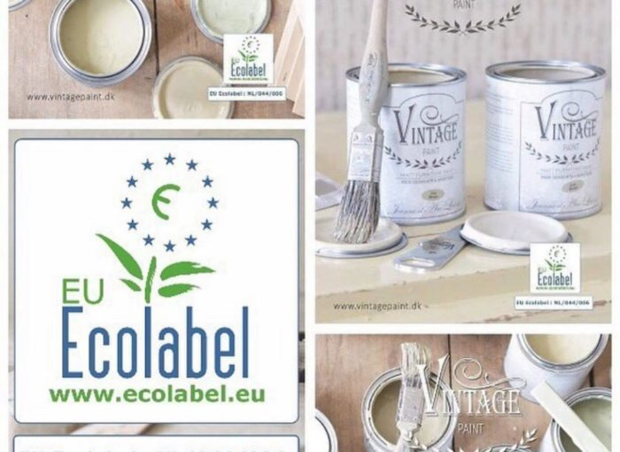 Collage eco label